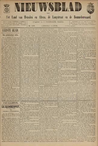 Nieuwsblad het land van Heusden en Altena de Langstraat en de Bommelerwaard 1895-06-08