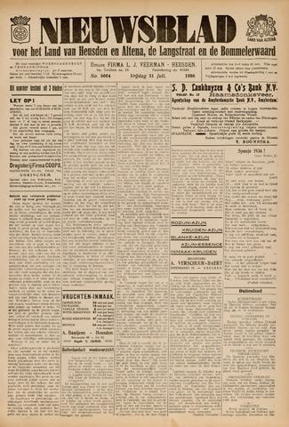 Nieuwsblad het land van Heusden en Altena de Langstraat en de Bommelerwaard 1936-07-31