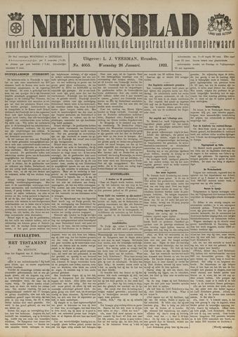 Nieuwsblad het land van Heusden en Altena de Langstraat en de Bommelerwaard 1921-01-26