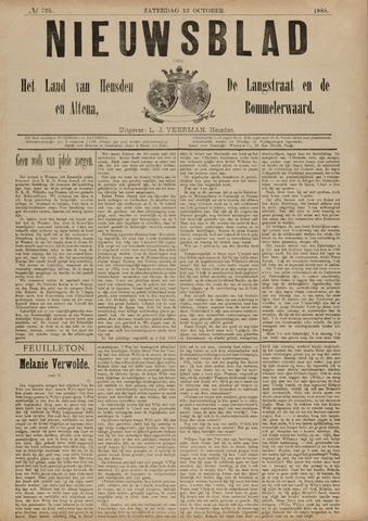 Nieuwsblad het land van Heusden en Altena de Langstraat en de Bommelerwaard 1888-10-13