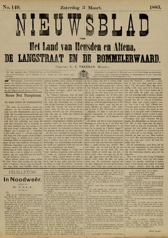 Nieuwsblad het land van Heusden en Altena de Langstraat en de Bommelerwaard 1883-03-03