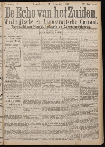 Echo van het Zuiden 1909-02-11