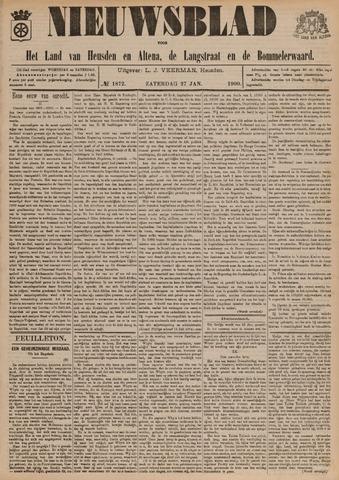 Nieuwsblad het land van Heusden en Altena de Langstraat en de Bommelerwaard 1900-01-27