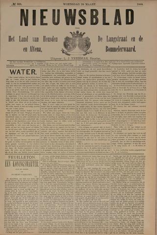 Nieuwsblad het land van Heusden en Altena de Langstraat en de Bommelerwaard 1888-03-28