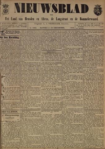 Nieuwsblad het land van Heusden en Altena de Langstraat en de Bommelerwaard 1893-12-23