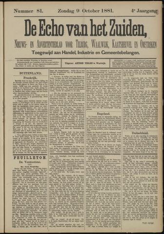 Echo van het Zuiden 1881-10-09