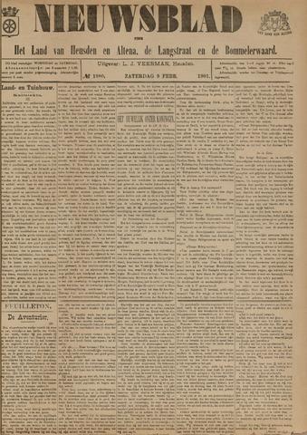 Nieuwsblad het land van Heusden en Altena de Langstraat en de Bommelerwaard 1901-02-09