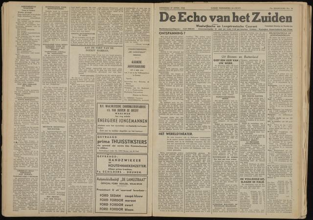 Echo van het Zuiden 1948-04-27