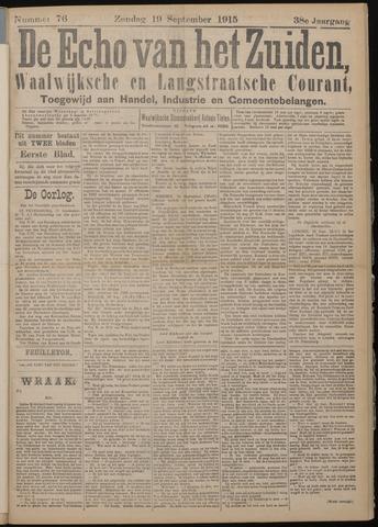 Echo van het Zuiden 1915-09-19