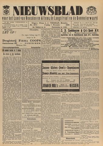 Nieuwsblad het land van Heusden en Altena de Langstraat en de Bommelerwaard 1930-11-07