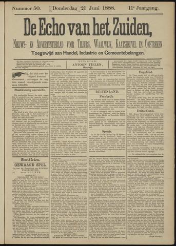 Echo van het Zuiden 1888-06-21