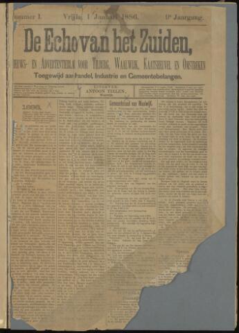 Echo van het Zuiden 1886-01-01