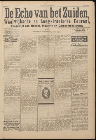 Echo van het Zuiden 1922-10-21