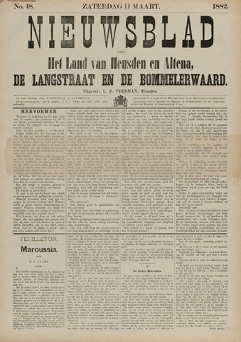 Nieuwsblad het land van Heusden en Altena de Langstraat en de Bommelerwaard 1882-03-11