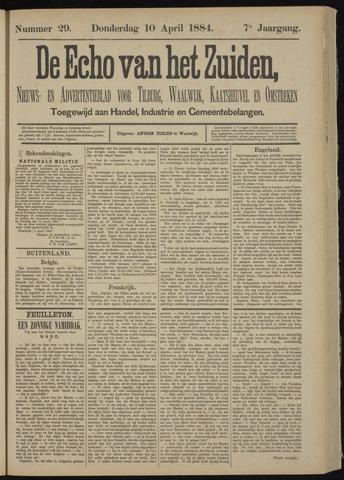 Echo van het Zuiden 1884-04-10