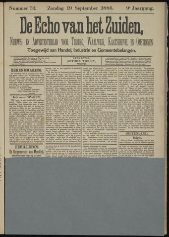 Echo van het Zuiden 1886-09-19