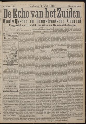 Echo van het Zuiden 1912-07-18