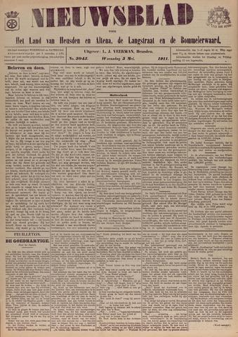 Nieuwsblad het land van Heusden en Altena de Langstraat en de Bommelerwaard 1911-05-03