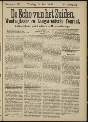 Echo van het Zuiden 1889-07-28