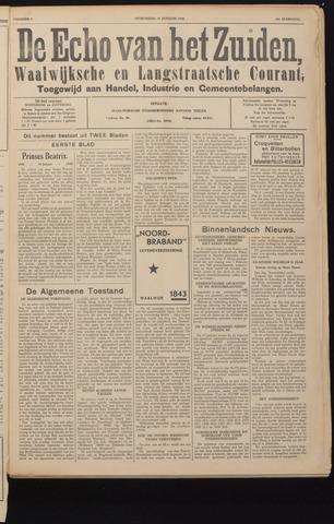 Echo van het Zuiden 1940-01-27