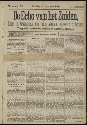 Echo van het Zuiden 1881-10-02