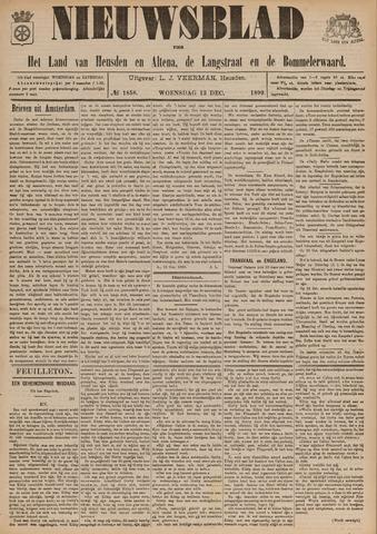 Nieuwsblad het land van Heusden en Altena de Langstraat en de Bommelerwaard 1899-12-13