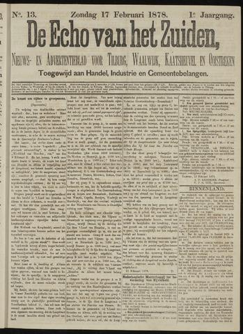 Echo van het Zuiden 1878-02-17