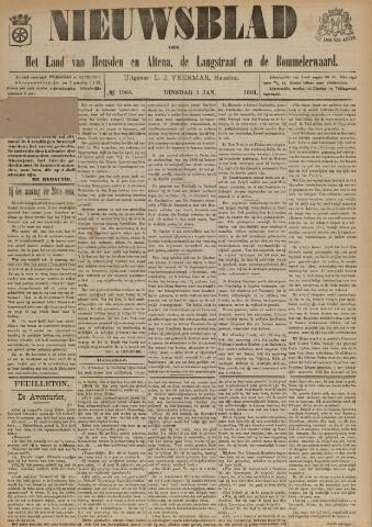 Nieuwsblad het land van Heusden en Altena de Langstraat en de Bommelerwaard 1901-01-01