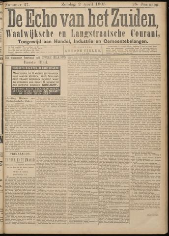 Echo van het Zuiden 1905-04-02