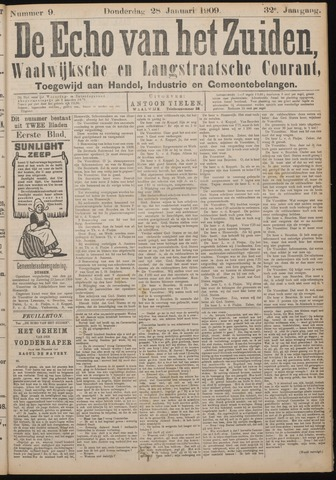 Echo van het Zuiden 1909-01-28