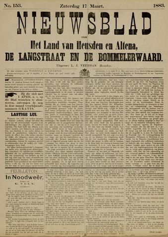 Nieuwsblad het land van Heusden en Altena de Langstraat en de Bommelerwaard 1883-03-17