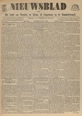 Nieuwsblad het land van Heusden en Altena de Langstraat en de Bommelerwaard 1903-07-25
