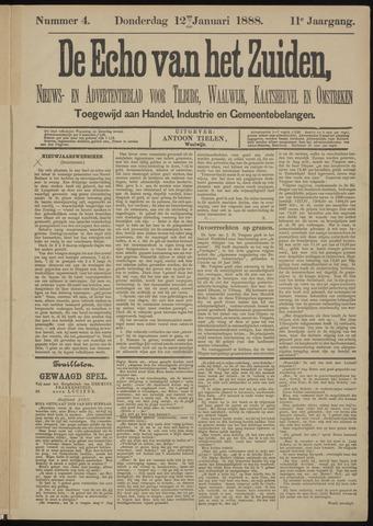 Echo van het Zuiden 1888-01-12