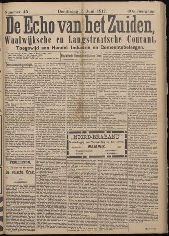 Echo van het Zuiden 1917-06-07