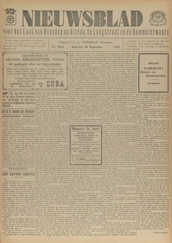 Nieuwsblad het land van Heusden en Altena de Langstraat en de Bommelerwaard 1919-09-20