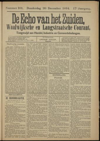 Echo van het Zuiden 1894-12-20