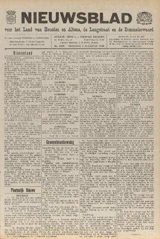 Nieuwsblad het land van Heusden en Altena de Langstraat en de Bommelerwaard 1948-08-02