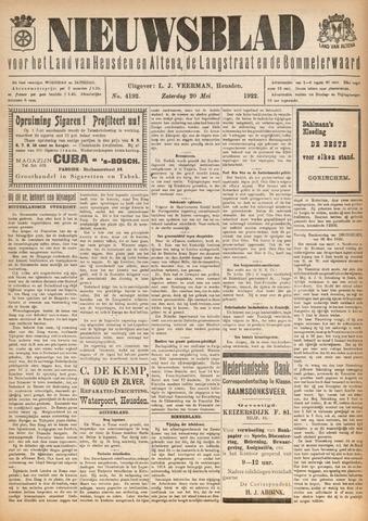 Nieuwsblad het land van Heusden en Altena de Langstraat en de Bommelerwaard 1922-05-20