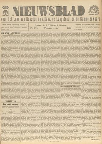 Nieuwsblad het land van Heusden en Altena de Langstraat en de Bommelerwaard 1918-05-15
