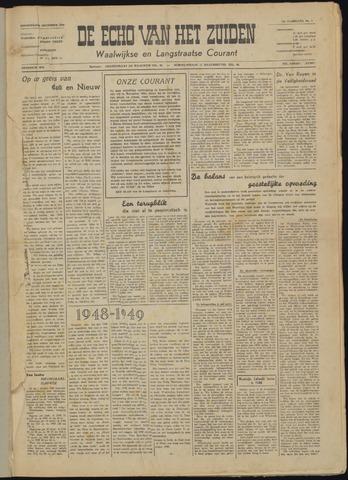 Echo van het Zuiden 1948-12-30