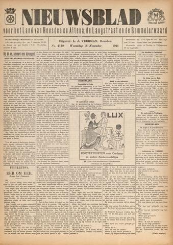 Nieuwsblad het land van Heusden en Altena de Langstraat en de Bommelerwaard 1921-11-16