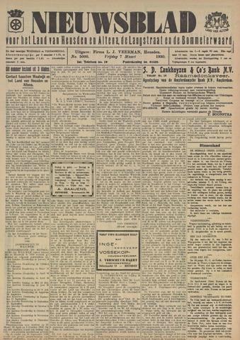 Nieuwsblad het land van Heusden en Altena de Langstraat en de Bommelerwaard 1930-03-07