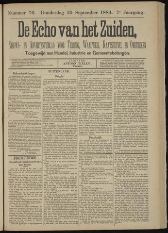 Echo van het Zuiden 1884-09-25