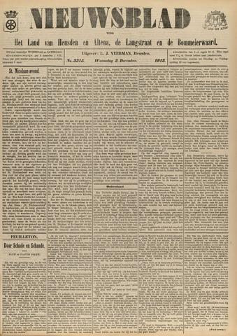 Nieuwsblad het land van Heusden en Altena de Langstraat en de Bommelerwaard 1913-12-03