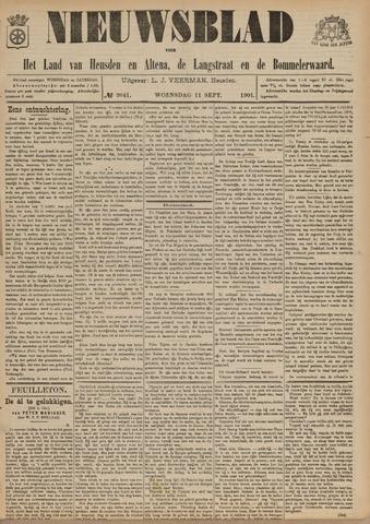 Nieuwsblad het land van Heusden en Altena de Langstraat en de Bommelerwaard 1901-09-11