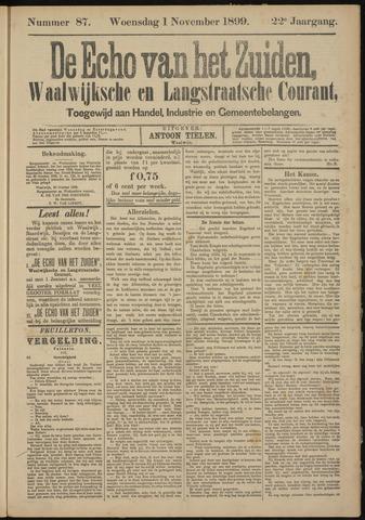 Echo van het Zuiden 1899-11-01