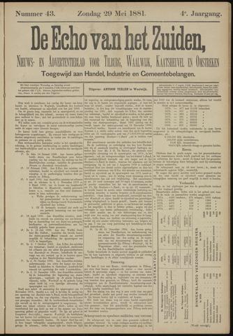 Echo van het Zuiden 1881-05-29