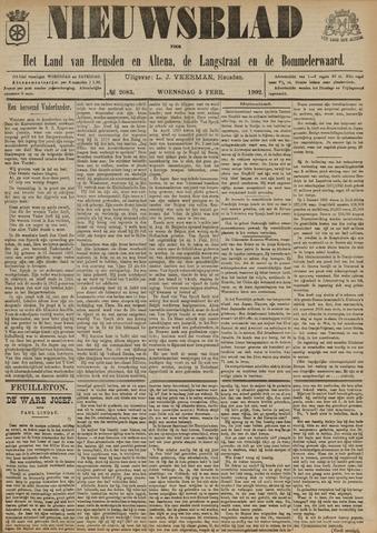 Nieuwsblad het land van Heusden en Altena de Langstraat en de Bommelerwaard 1902-02-05