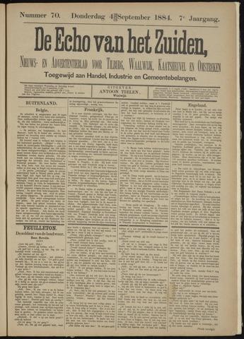 Echo van het Zuiden 1884-09-04