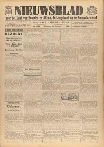 Nieuwsblad het land van Heusden en Altena de Langstraat en de Bommelerwaard 1932-10-19